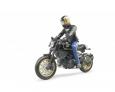 Motocykel Ducati Scrambler s jazdcom