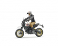Motocykel Ducati Desert s jazdcom