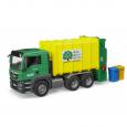 Nákladné auto MAN TGS - smetiarske zelené