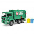 Nákladné auto MAN - smetiarske zelené