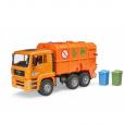 Nákladné auto MAN - smetiarske oranžové
