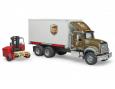 Nákladné auto MACK Granit - preprava UPS.