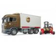 Nákladné auto SCANIA - preprava UPS, vozík