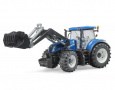 Traktor NEW HOLLAND T7 + čel. nakladač