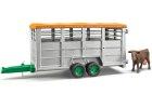 Náves na prepravu hospodárskych zvierat + 1 figúrka kravy