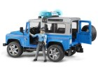 Policajný Land Rover Defender + figúrka policajta