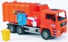 Vozidlo na odpadky MAN (oranžové)