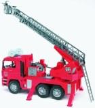 Požiarny rebrík MAN s majákom