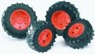 Kolesá pre traktory rady 3000 - oranžové