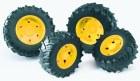 Kolesá pre traktory rady 3000 - žlté